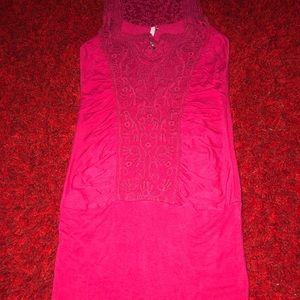 Leshop small shirt dress